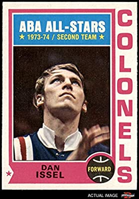1974 Topps # 190 Dan Issel Colonels (Basketball Card) Dean's Cards 5.5 - EX+ Colonels Kentucky