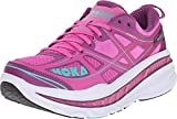 HOKA ONE ONE Women's Stinson 3 Fuchsia/Byzantium Purple Athletic Shoe