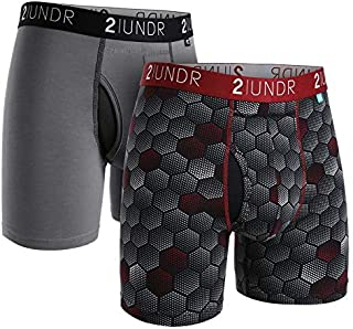 """2UNDR Swing Shift 6"""" Boxer Brief 2-Pack"""