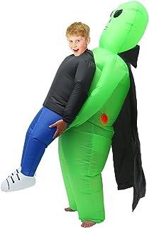 Concerti e Feste AirSuits Costume Gonfiabile da Alieno Divertente da Indossare Unisex Tuta Gonfiabile Alimentato A Ventola Perfetto per Halloween