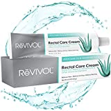 ReVIVOL-XR Plus | 5% Lidocaine + Soothing Aloe + Vitamin E, Fast-Acting Numbing Cream Ointment Topical | Skin Pain Relief | Non-Greasy | Hemorrhoid Treatment | Made in USA | (No Finger COTS)