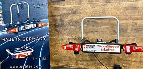 Uebler F14 15940 Fahrradträger für 1 E-Bike Leichter Kupplungsträger Ahk-Träger
