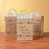 Fun Express - Faith Family Friends Paper Bags -...