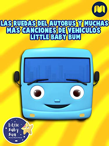 Las Ruedas del Autobús y muchas más canciones de vehículos - Little Baby Bum