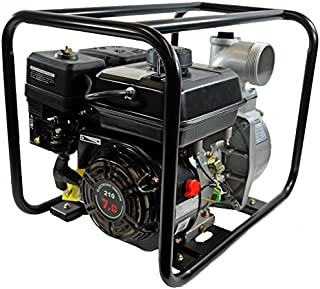 Shop4Omni 4-Stroke 220 GPM 3 Inch 7 HP Gas Powered Portable Water Pump