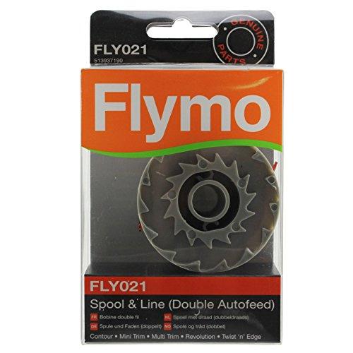 FLYMO original Revolution 2500 Débroussailleuse Bobine & Ligne Double Auto alimentation (FLY021)