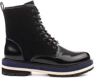CafÈnoir Anfibi stivaletti nero scarpe donna FA913 38