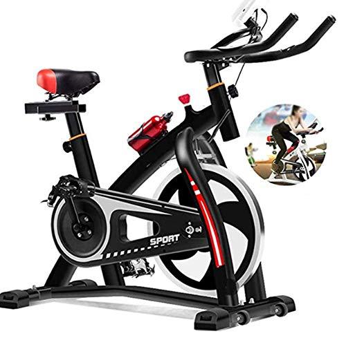 MUZILIZIYU Marco de Acero Inoxidable de la Bicicleta de Ejercicio Interior Profesional cómodo y Seguro para ejercitar piernas, Caderas, Brazos y Hombros