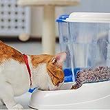 Ferplast 71970099W1 Futterspender ZENITH, für Katzen und Hunde, Maße: 29,2 x 20,2 x 28,8 cm, 3 Liter, weiss - 2