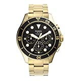 Fossil Men's FB-03 Quartz Stainless Chronograph Watch, Color: Gold (Model: FS5727)