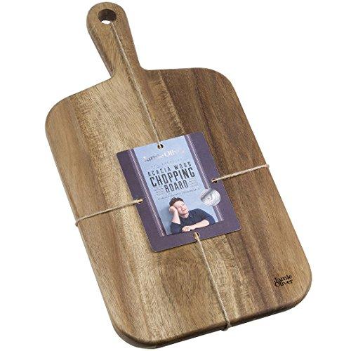 Jamie Oliver Akazie Schneidbrett, Akazienholz, Braun, 42 x 21 x 2 cm