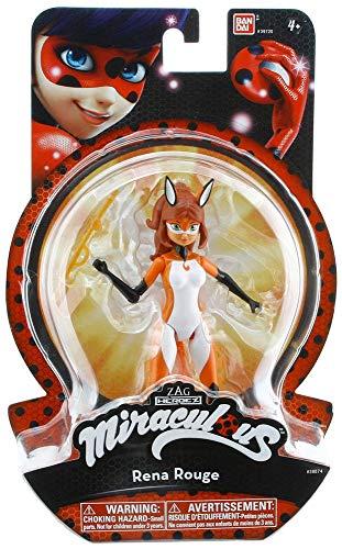 Miraculous Ladybug Rena Rouge 5.5' Action Figure - ladybag volpina -