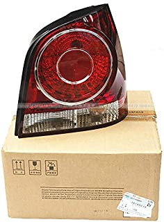 KeoKasu - VW 2006-2010 POLO Rear lamp Taillight shell Taillight cover Light bulb with a circuit board