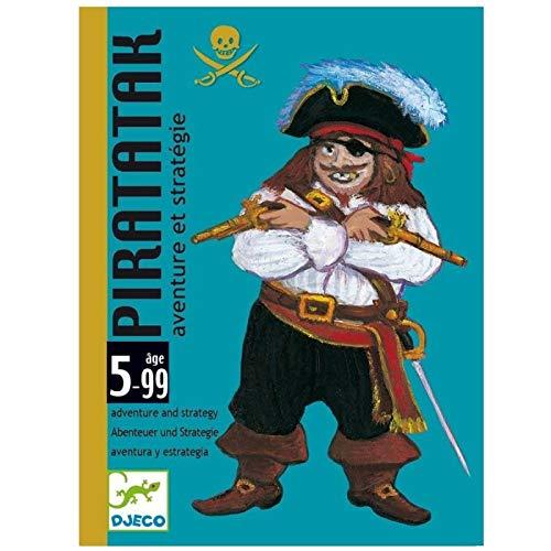 Djeco piratak - Gioco di carte per bambini