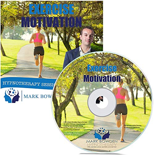 Exercise Motivation Hypnosis CD - Get Motivated to Get in Shape with the Power of Your Mind Using Hypnotherapy by Mark Bowden (2016-10-21)