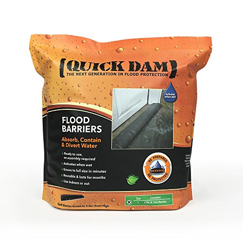 Quick Dam QD617-1 Flood Barriers Now $15.39 (Was $40.00)
