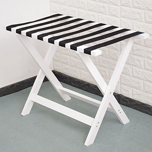 Fantastic Prices! CHAOYANG Hotel luggage rack Solid wood luggage rack, hotel bedroom Foldable Lugg...
