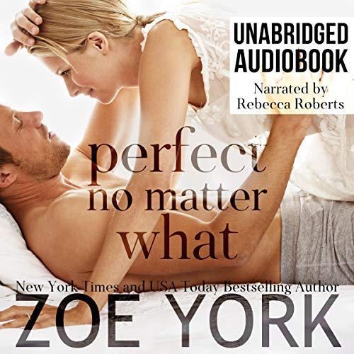 Perfect No Matter What audiobook cover art