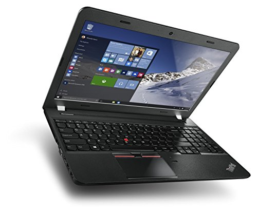 Lenovo ThinkPad E560 (15.6 inch) Notebook Core i5 (6200U) 2.3GHz 8GB 256GB SSD DVD±RW Webcam Windows 10 Pro (64-bit) - (Integrated HD Graphics 520) (Renewed)