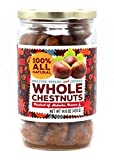Gourmanity 420g Chestnuts Peeled And Ready To Eat Jar Pack Of 2, Roasted Chestnuts Peeled, Peeled Chestnut, Roasted Peeled Chestnuts, Chestnut Roasted Jar, Chestnuts Roasted Peeled, Roasted Chestnut