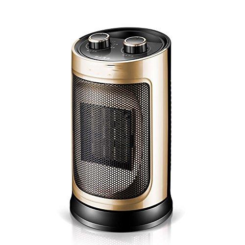 HAIZHEN Radiateur électrique Réchauffeur de bureau de ménage or 1500W chauffage en céramique chaleur instantanée Économie d'énergie