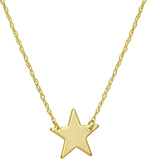 Best 14k gold star necklace Reviews