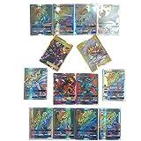 (89 GX + 10 Trainer) 100 Pcs Pokemon GX Cards EX Trainer Mega Energy Cartes