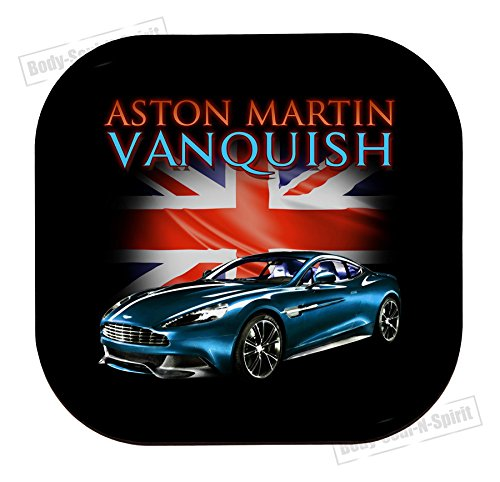 Aston Martin Vanquish Coaster cup Dranken houder MDF Mat Houten Dye placemat
