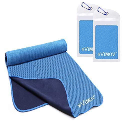 VIMOV Toalla Refrescante 2 Pack con Funda