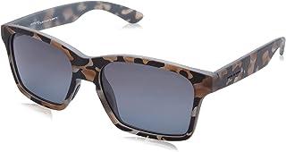 نظارة شمس بعدسات شبه مربعة وشنبر بنقشة مموهة للنساء من ايطاليا انديبندنت - رمادي