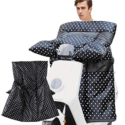 Tram elektrische auto voorruit door de winter, winter warme scooter winddichte Quilt, bedrukte leggings schort winter kleding R