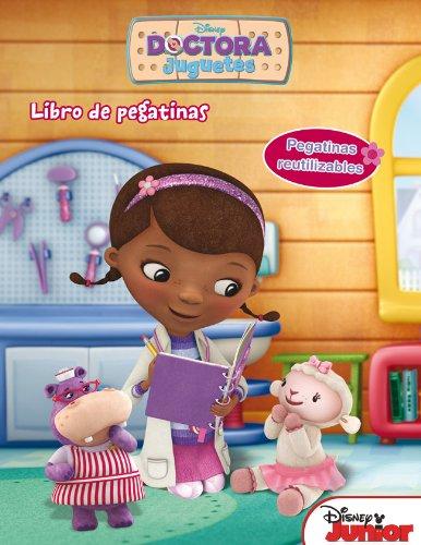 Doctora Juguetes. Libro de pegatinas: Pegatinas reutilizables (Disney. Doctora Juguetes)
