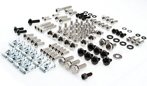 Aprilia RS4 50 125 Schraubensatz mit 10 Clipsen Baujahr 2011 Schrauben 113 Bauteile