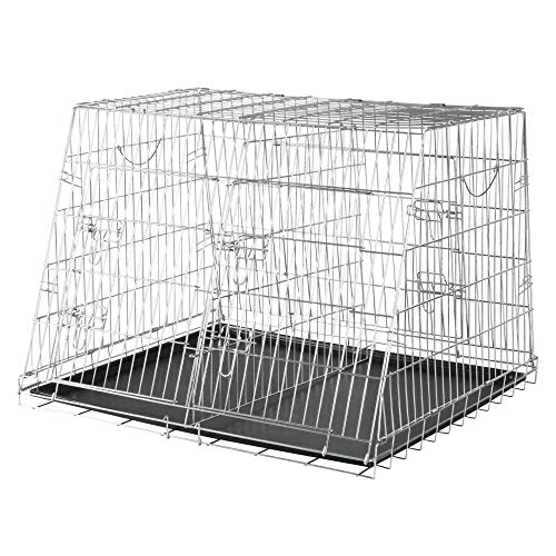 Trixie 3930 Home Kennel, doppelt, S–M: 90 × 64 × 79 cm