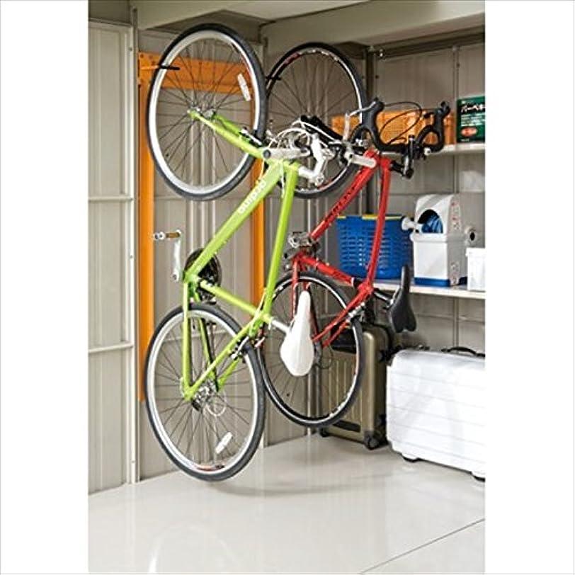 葉植生賞賛する田窪工業所 タクボ物置 オプション 自転車収納ラック(2台収納用追加部品) 1台収納用 TY-CRWT