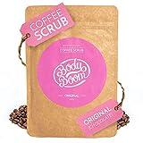 Peeling natural de café Chocolate Auténtico – anticelulitico, reafirmante, alisante para cuerpo y cara | limpia | elimina toxinas | reafirma | unifica el tono de la piel (200g)