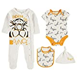 Character Baby Long Sleeves Romper All Over Print 0-18 Mnth (Tigger, 0-3)