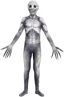 Morphsuits Boys X-Large (14-16) The Rake Urban Legend Morphsuit, White Grey