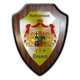 Copytec Wappenschild Kurfürstentum Hessen Kassel Jurhessen Landgrafschaft Heimat #24307