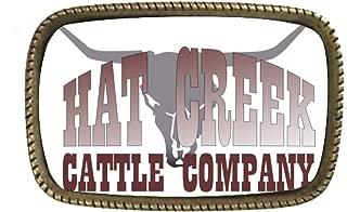 Lonesome Dove Hat Creek Cattle Co Belt Buckle