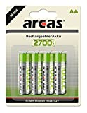Arcas 177 27406 - Akku Ni-MH 4er Pack, HR06 / AA / Mignon,