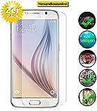 Smartphone Equipment [2er Pack] Panzerglas für Samsung Galaxy S6 Echt-Hartglas 9H, Glasfolie Schutzfolie Glas Folie Panzerfolie Bildschirm Schutz