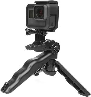 SOLDOUT™ Mini Portable Tripod Stand Compatible With GoPro Hero 8 7 6 5 Black 4 Session Yi 4K Sjcam Eken, Canon, Nikon, Son...