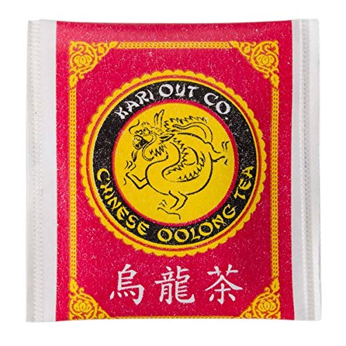 NEW! Original Kari-Out Premium Chinese Oolong Tea Bags,150-Pack. Caffeinated, Semi-Fermented and Served at the Best Chinese, Sushi and Japanese Restaurants
