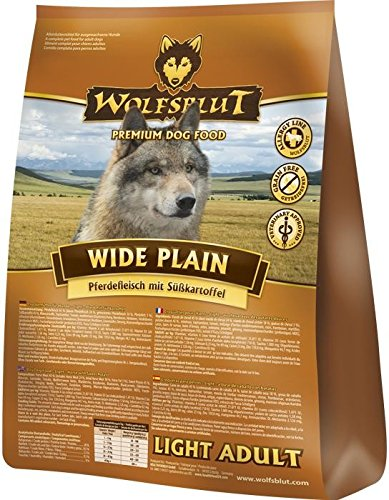 Wolfsblut | Wide Plain Light | 15 kg | Pferd | Trockenfutter | Hundefutter | Getreidefrei