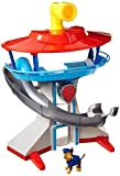 PAW PATROL 12010521 Toy-The Lookout Playset-Includes Chase Police Dog Figure-Nickelodeon, Blue, Red and Yellow, 10.5 x 14.5 x 15.5