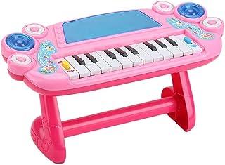RANRANJJ 初期の教育ピアノ&ドラム楽器、1 2 3歳の赤ちゃんのおもちゃ、幼児のための電子キーボードを学ぶ子供男の子と女の子 (色 : A)