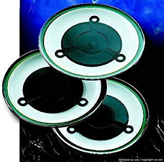 Microwave Plate Warmers - 3 microwave heating pads that will give you hot plates in seconds. Great for dinner parties