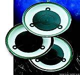 3Chauffe-Assiettes Pour Micro-Ondes
