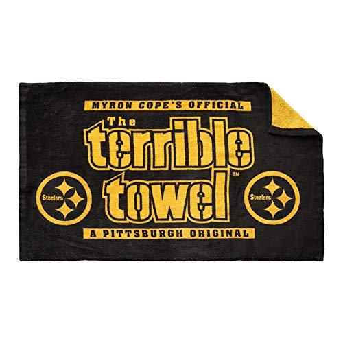Steelers The Terrible Towel in Black